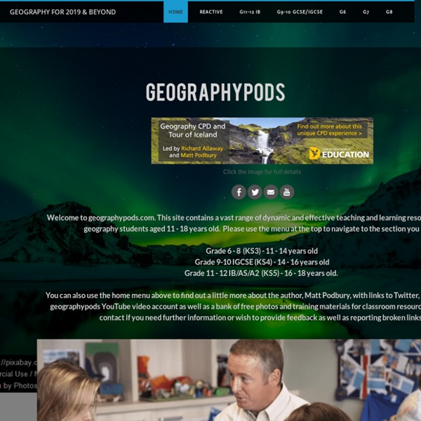 Geography for 2015 & Beyond - Home