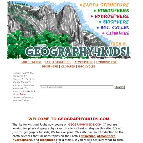Rader's GEOGRAPHY 4 KIDS