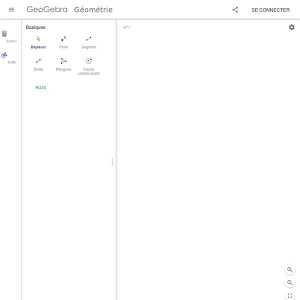 Geogebra Géometrie