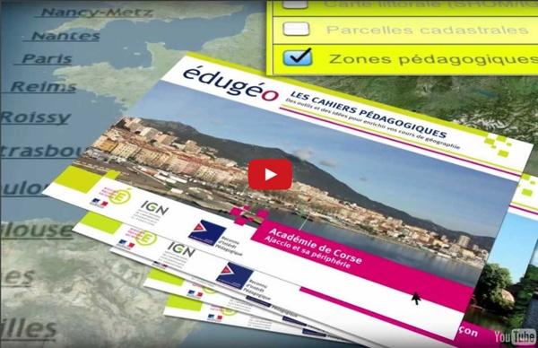 Vidéo de présentation Édugéo, le géoportail de l'éducation