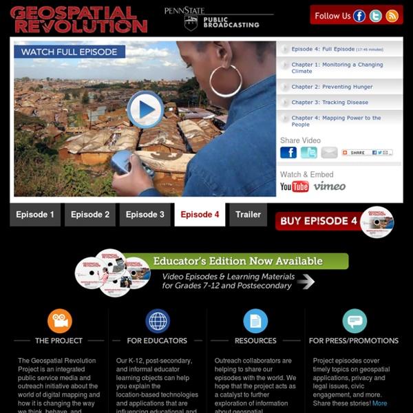 Geospatial Revolution Project