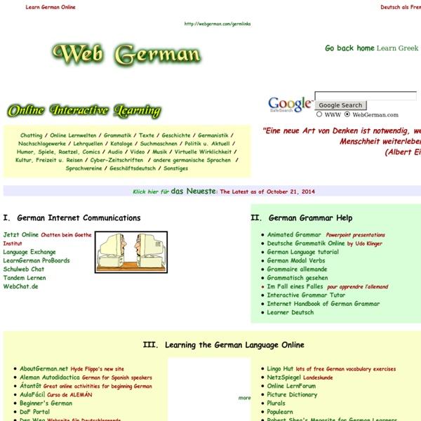 German Online Interactive