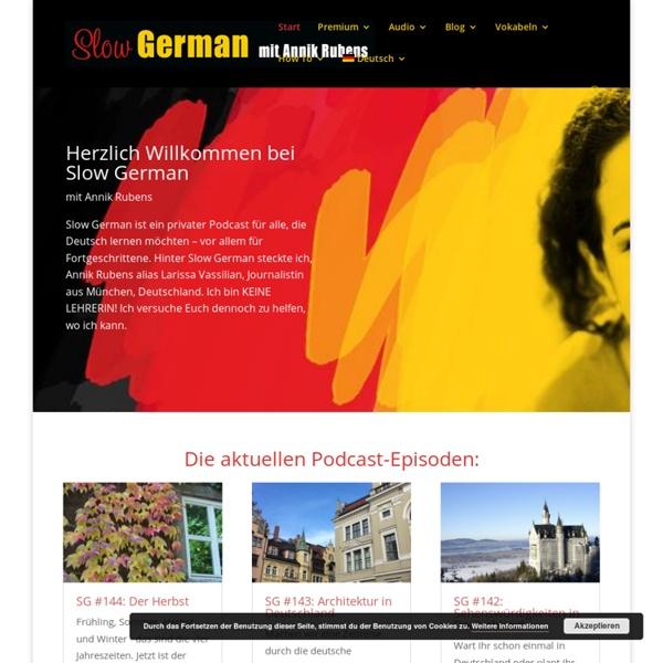 Slow German - Lerne alles über Deutschland!