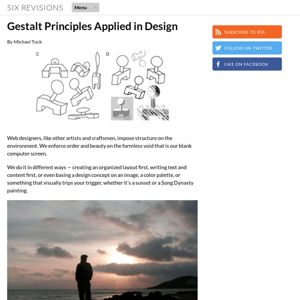 Gestalt Principles Applied in Design