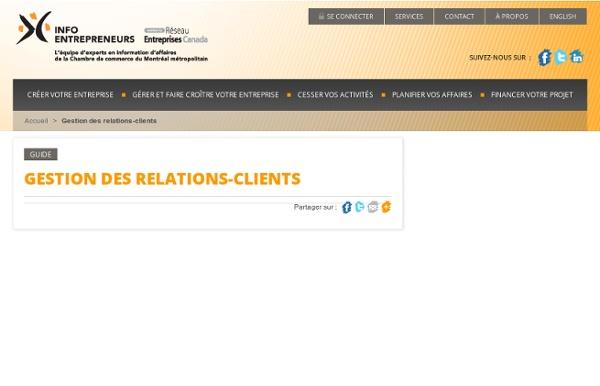 Gestion des relations-clients