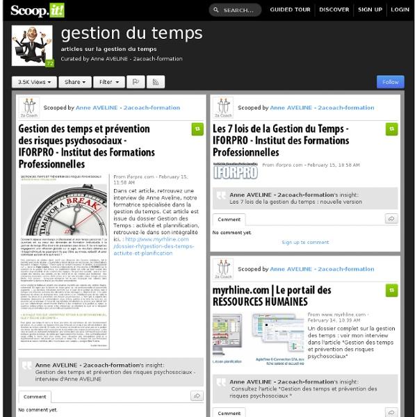Portail - sites sur la gestion du temps