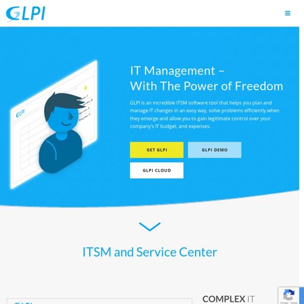 GLPI - Gestionnaire libre de parc informatique
