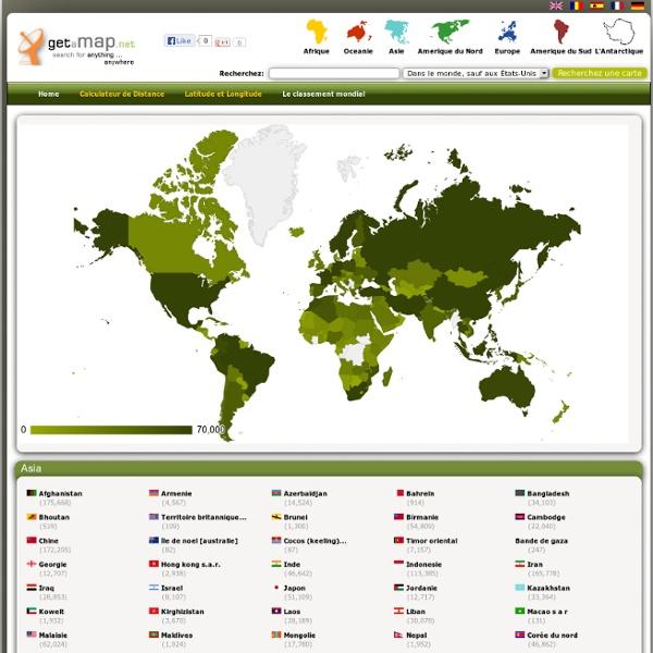 Fr.Getamap.net - Cartes de partout dans le monde (Latitude et Longitude)