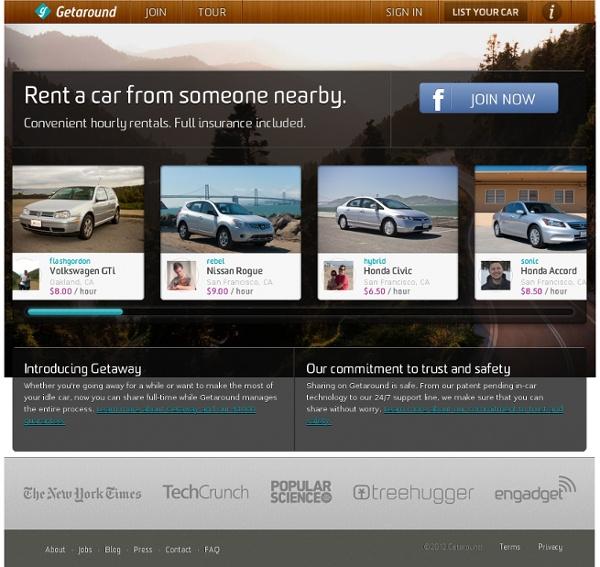 Getaround - Peer-to-peer car sharing and local car rental