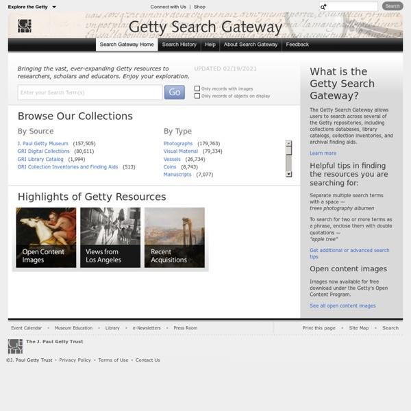 Search Gateway Home