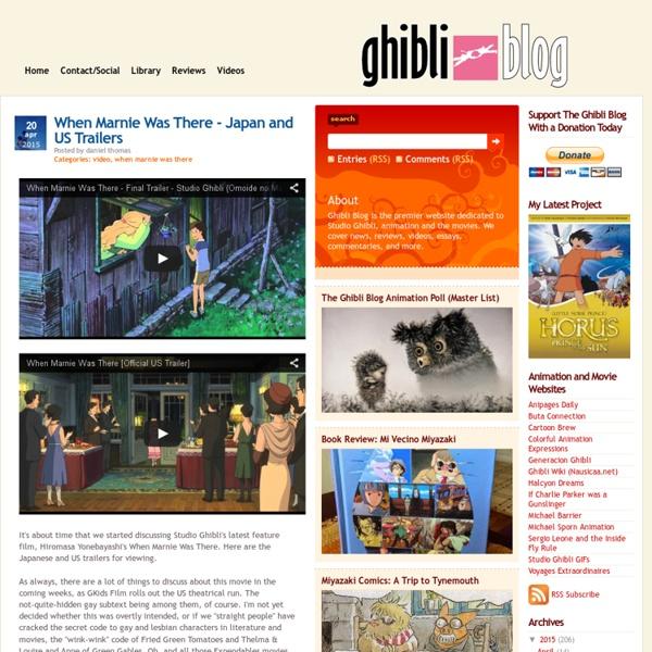 Ghibli Blog - Studio Ghibli, Animation and the Movies