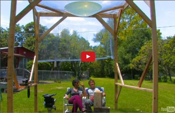 Free Energy solar Giant Water Parabola scorcher Cooker 1000f AQUA DEATH RAY SOLAR GRILL