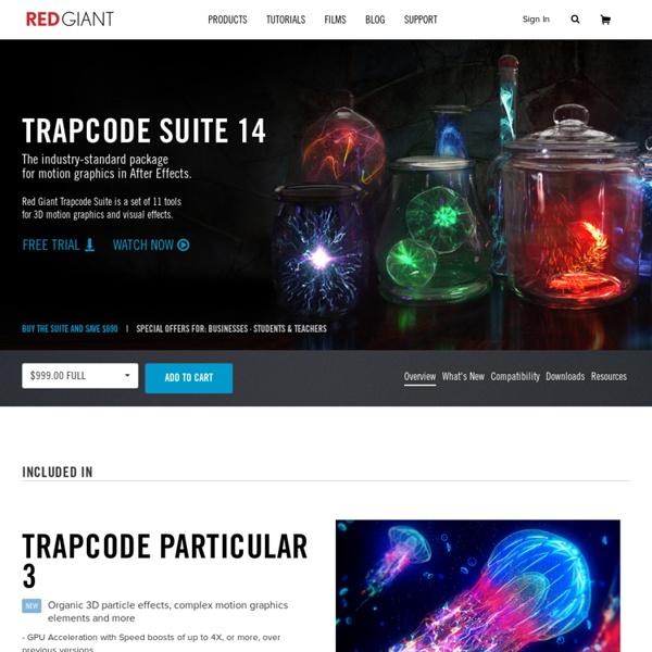 Trapcode - Blog