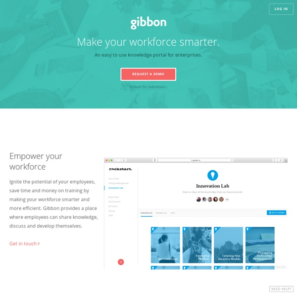 Gibbon - Playlists for Learning