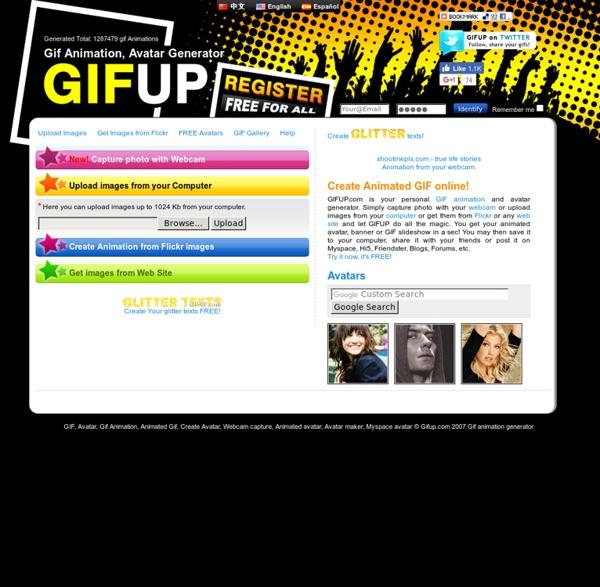 GIFup.com - Make gif animation online