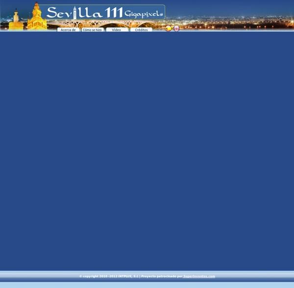 Sevilla 111 Gigapixeles