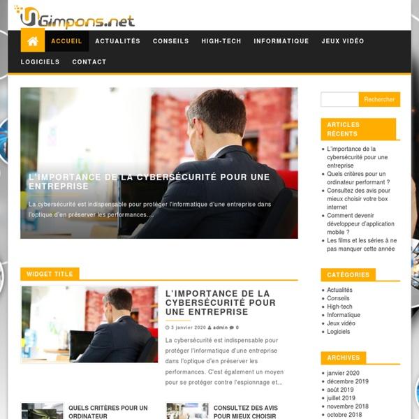 Gimpons.net : blog informatique et high-tech