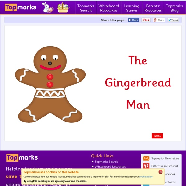 Gingerbread Man Story Pearltrees