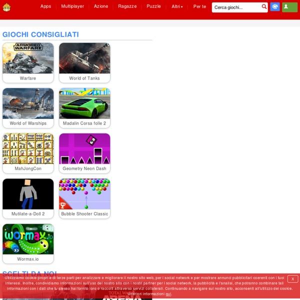 Gioco.it - Giochi Gratis Online, Giocare Gratis!