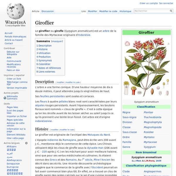 Giroflier