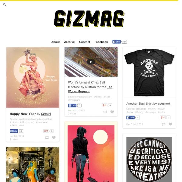 GizMag - Design Magazine