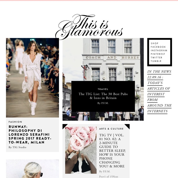 {this is glamorous} : adventures in love, design, fashion, home decor, food and travel