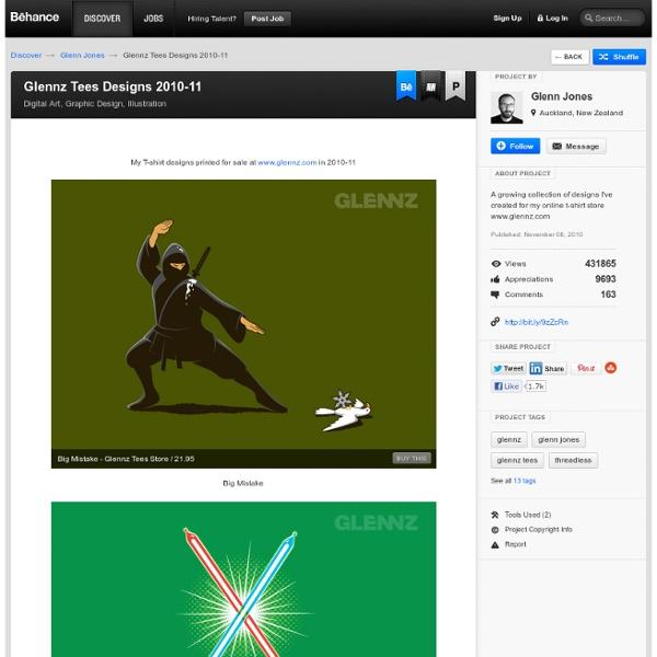 Glennz Tees Designs 2010-11 on the Behance Network