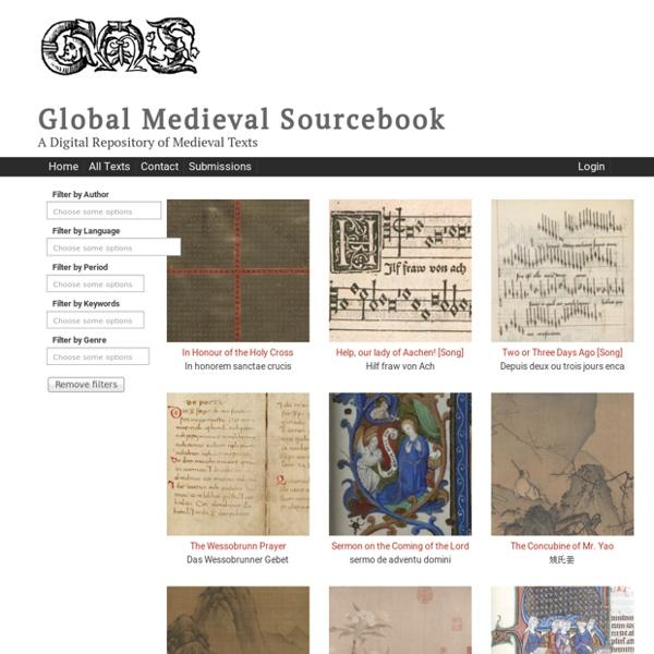 Global Medieval Sourcebook