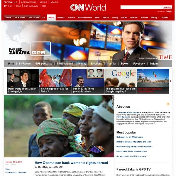 Global Public Square - CNN.com Blogs