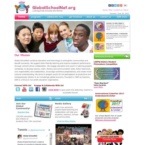 Global SchoolNet: Home