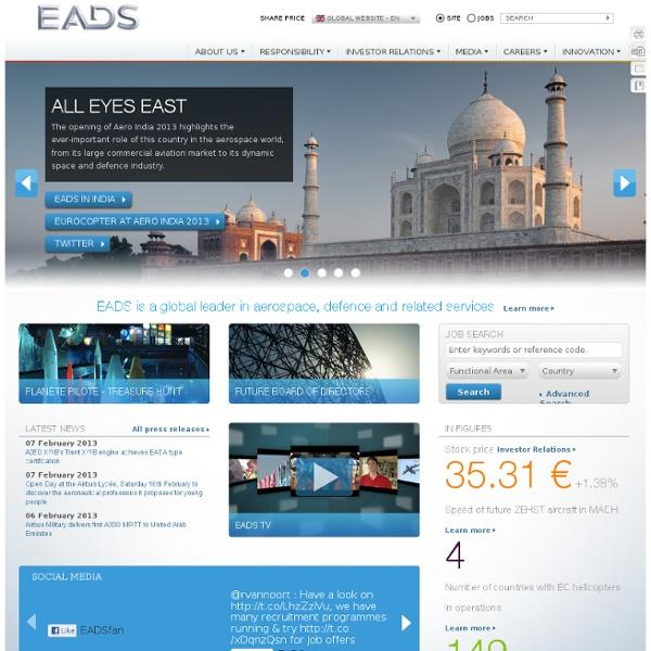 EADS Global Website