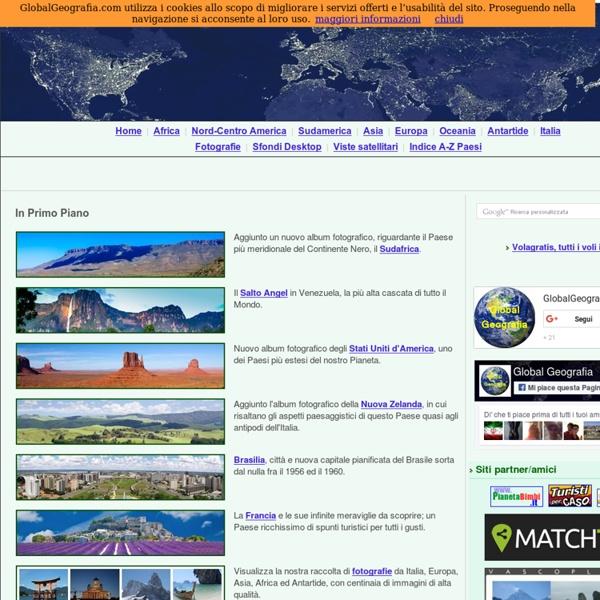 GlobalGeografia - Sito di informazione geografica