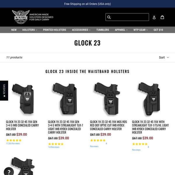 Glock 23 Holsters