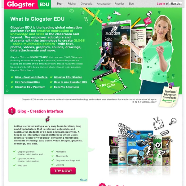 What is Glogster edu?
