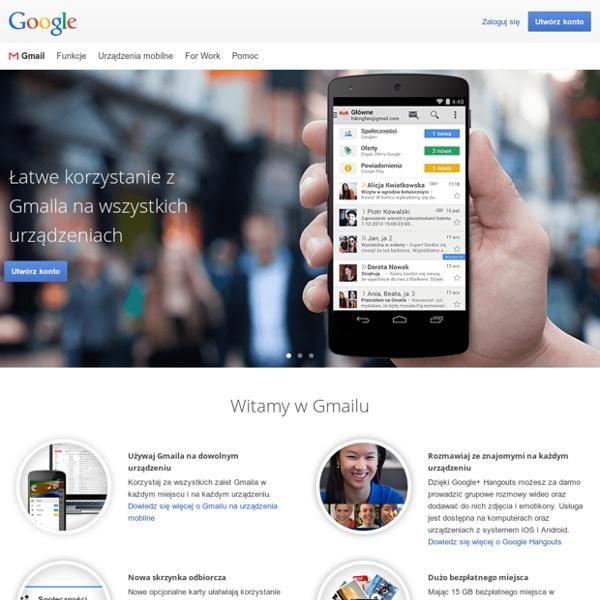 Gmail – bezpłatne miejsce na dane i poczta e-mail od Google