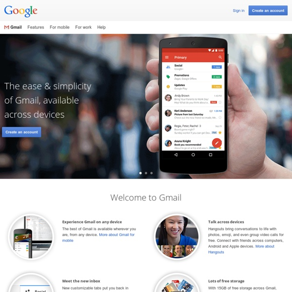 Free Storage and Email from Google