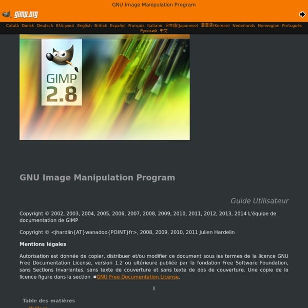GNU Image Manipulation Program