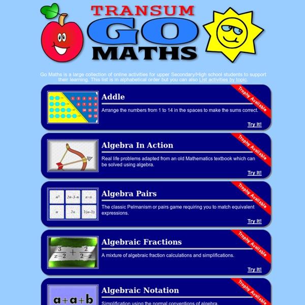Go Maths