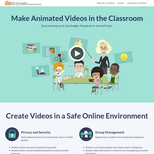 Domo Animate - Make your own Domo Animations and Slideshows with GoAnimate's super easy to use tools.