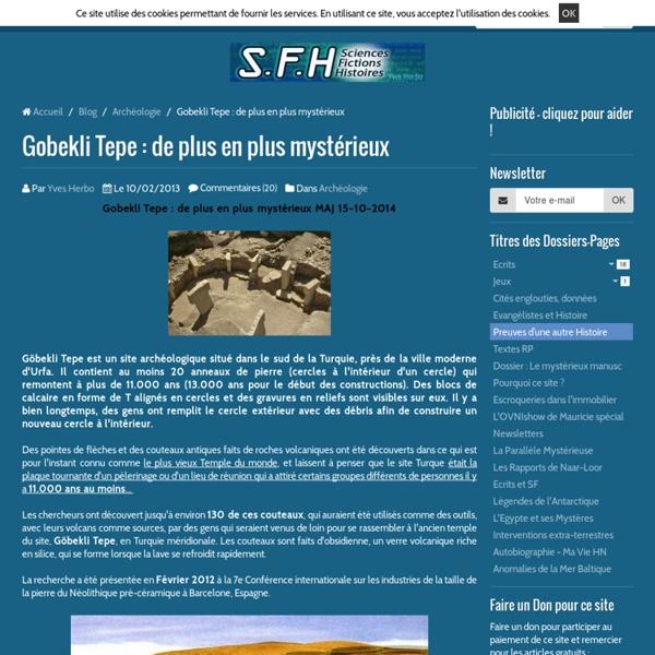 Gobekli Tepe : de plus en plus mystérieux