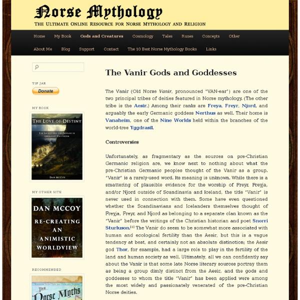 The Vanir Gods and Goddesses