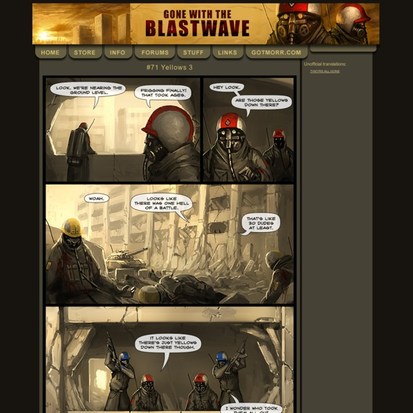 Gone with the Blastwave - Type E webcomic.