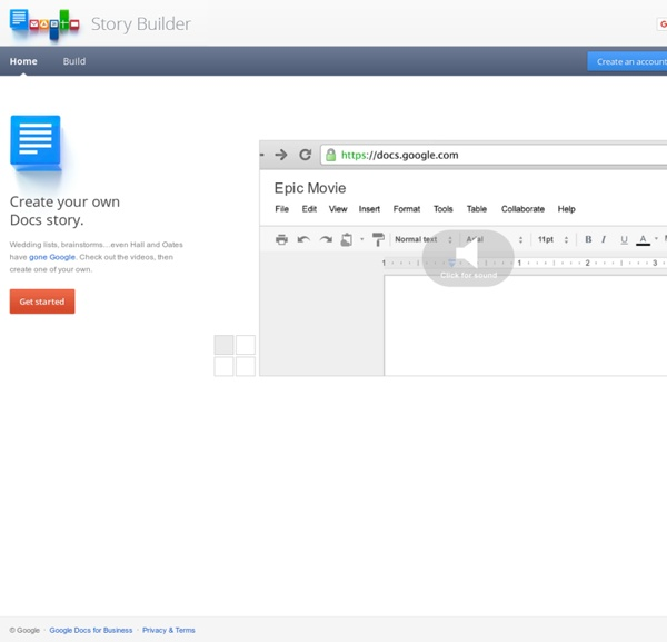Gone Google Story Builder