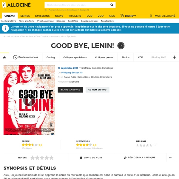 Good Bye, Lenin! - film 2002 - F BEC