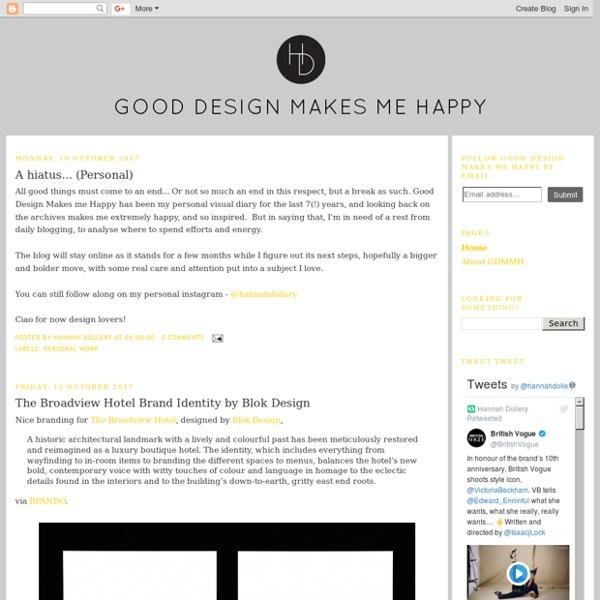 Good design makes me happy