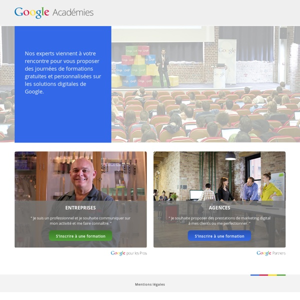 Les formations AdWords par Google - Academie Google AdWords
