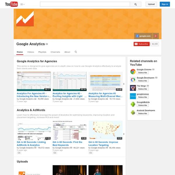 Googleanalytics's Channel