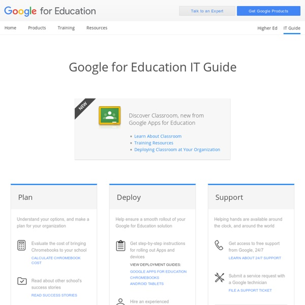 Apps for Education: IT Guide