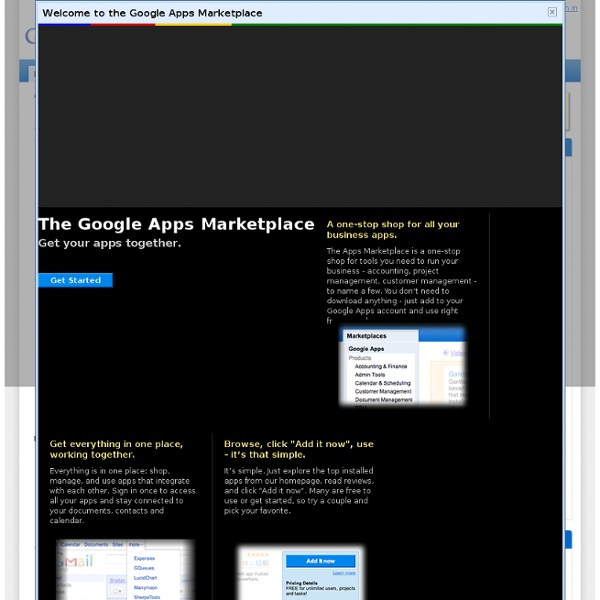 Apps Marketplace