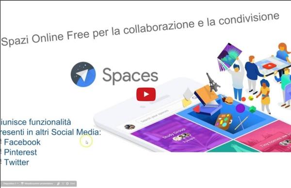 Come usare Google Spaces nella didattica